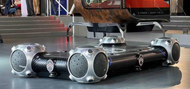 Представили перші сферичні шини