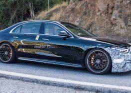 Mercedes тестує гібридний седан S63