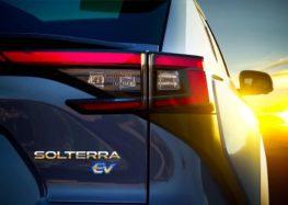 Subaru показала новий електрокросовер Solterra