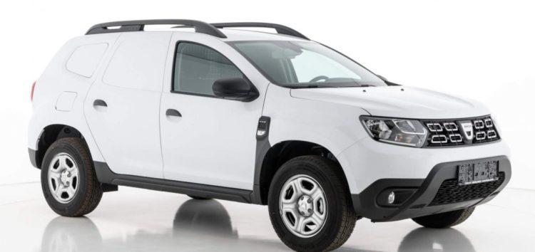 Вийшов вантажний Dacia Duster Commercial