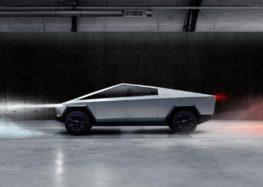 Tesla тестує свій Cybertruck на вулицях