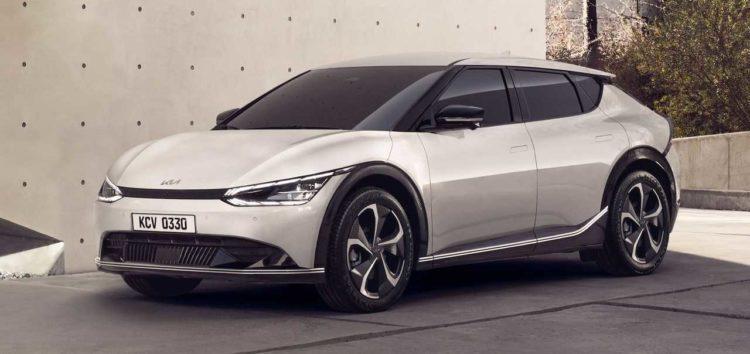 Kia представила новий EV6