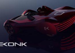 Vazirani Ekonok представила новий електричний суперкар