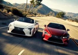Lexus оновив купе і кабріолет LC500