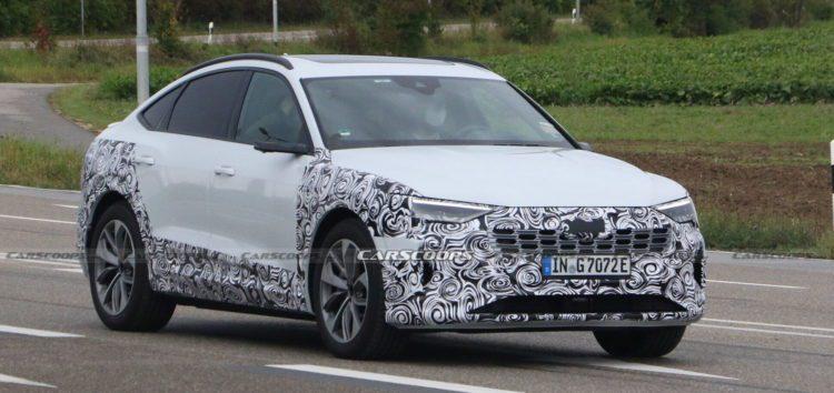 Audi тестує новий e-tron Sportback