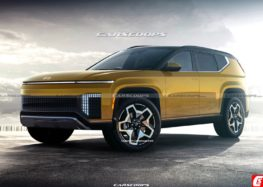 Показали рендерні фото нового електромобіля Hyundai Ioniq 7