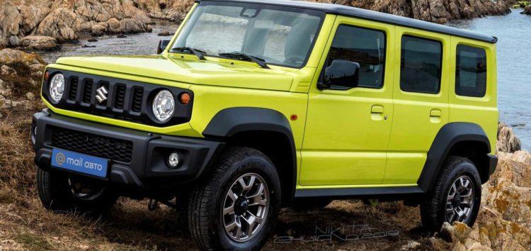 У мережі показали нові фотографії п'ятидверного Suzuki Jimny