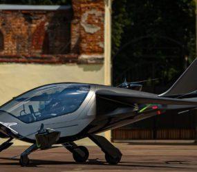Стартап AIR представив двомісний літаючий апарат