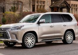 Lexus готує новий LX до ювілею бренду