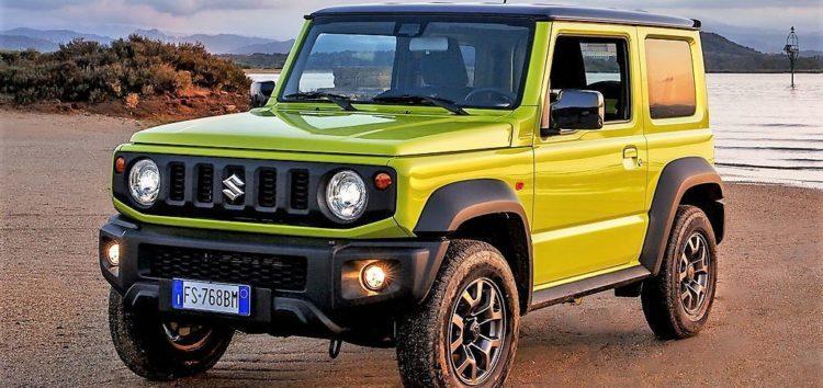 Suzuki показала новий позашляховик Jimny