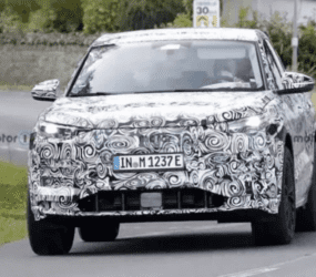 Audi Q6 E-Tron 2023 продемонстрировали в серийном кузове