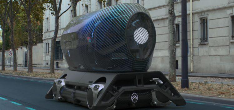 Citroën представив самохідний Skate для міських подорожей (відео)