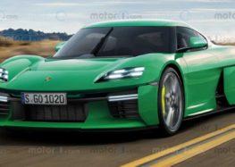 Дизайнер Porsche показав як буде виглядати електромобіль 911