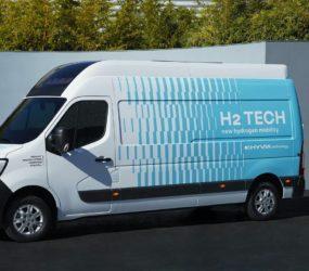 Renault показывает водородный Master